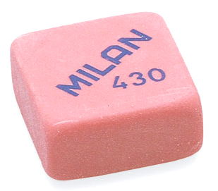 Goma de borrar miga de pan, Milan 430