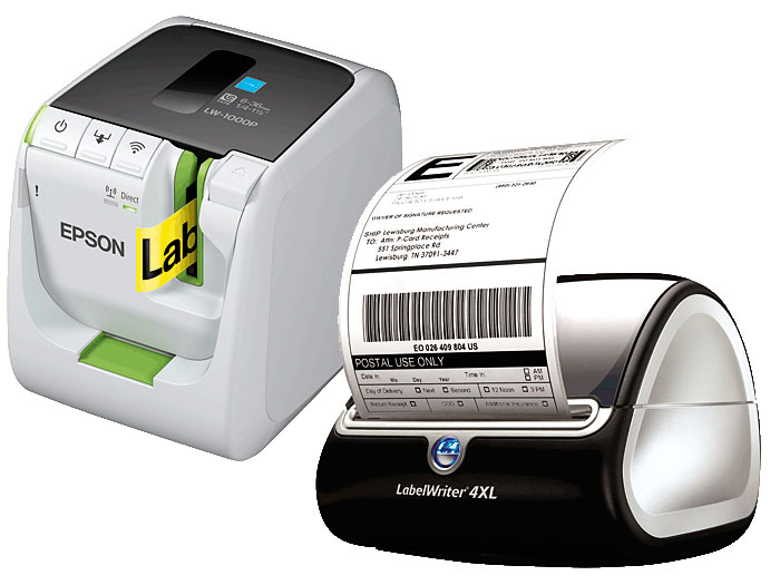 Impresoras Etiquetas Epson y Dymo