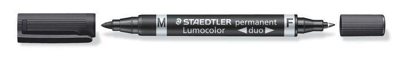 Rotulador permanente Staedtler Lumocolor Duo 348