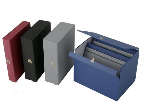 Cajas forradas con papel Geltex