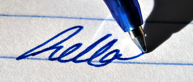 Bolígrafos con tinta de gel