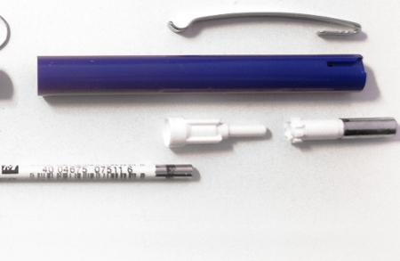Tipos de bolígrafos: el de mecanismo retráctil