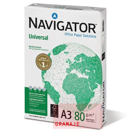 Gramaje de un papel Navigator