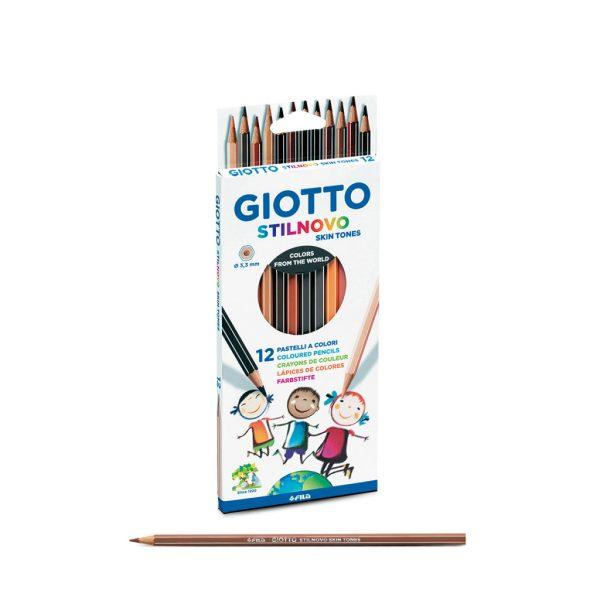 Lápices de colores color carne Giotto Skin Tones