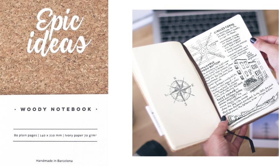 Cuadernos de corcho