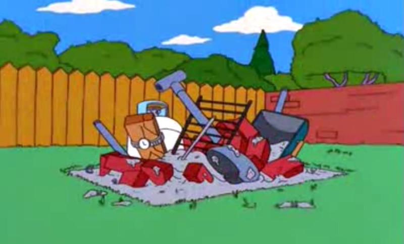 Barbacoa de Homer Simpson