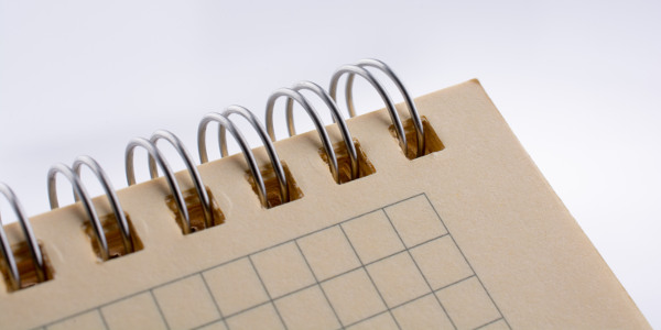 espiral de cuaderno