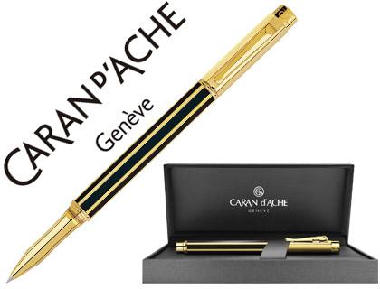 Bolígrafo de lujo lacado en negro