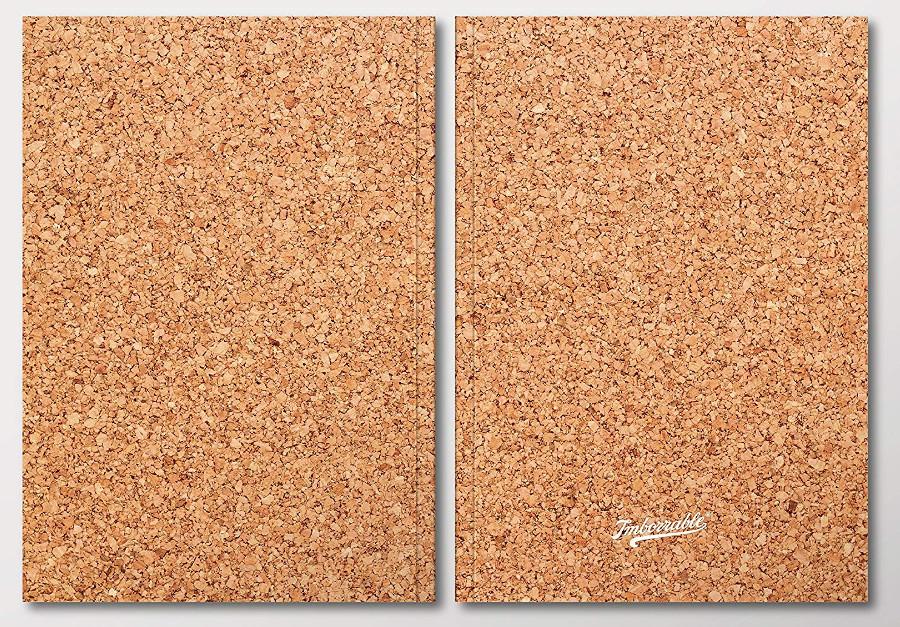 Cuadernos publicitarios de corcho