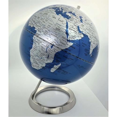 Comprar globo terráqueo base metálica
