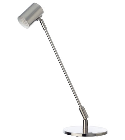 Lámpara de LED con cabezal orientable