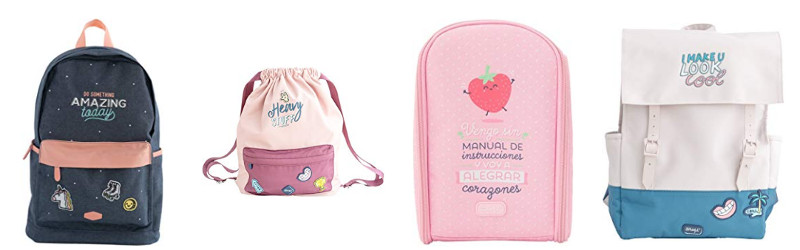 Mochilas escolares Mr Wonderful