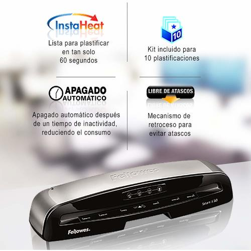 Comprar plastificadora Fellowes Saturn