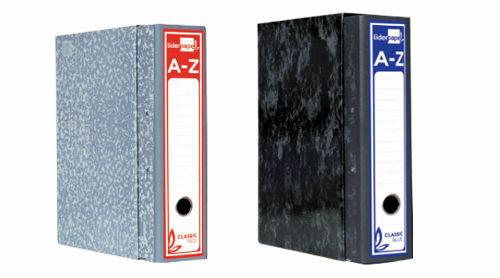 Archivadores de anillas AZ con caja