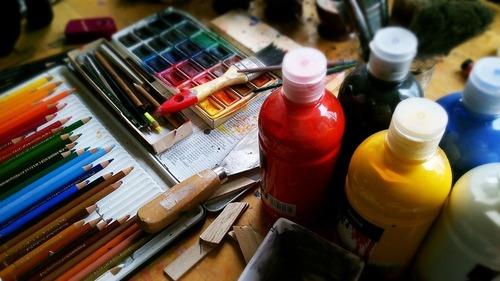 Materiales para bellas artes