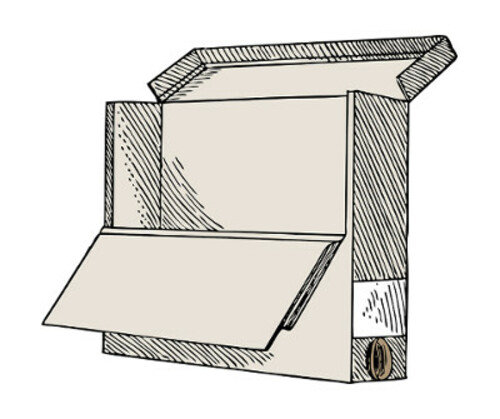 Cajas de cartón para archivo definitivo