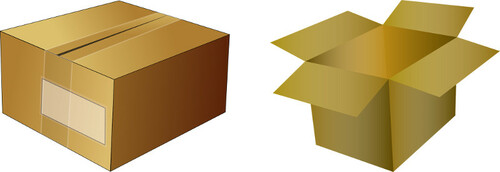 Cajas de embalaje de cartón