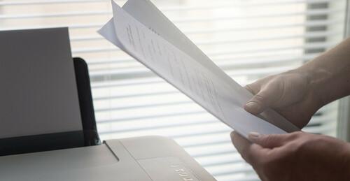 Comprar folios de papel para oficina