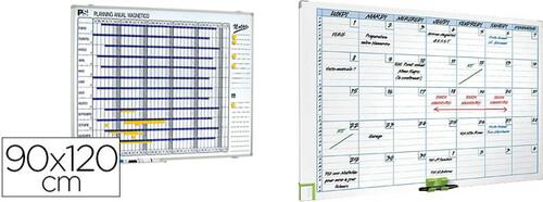 Planificadores mensuales magnéticos