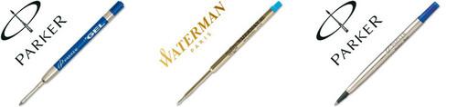 Recambios bolígrafos