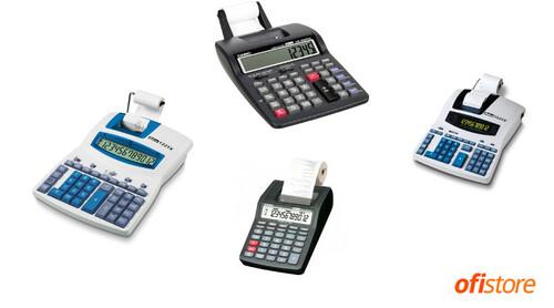 Comprar calculadoras sumadoras con impresora
