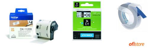 Comprar cintas para rotuladoras Dymo y Brother