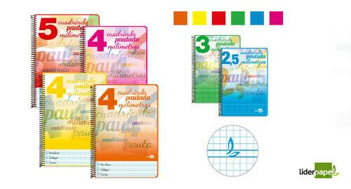 Cuadernos económicos Liderpapel Pautaguía