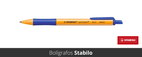 Bolígrafos Stabilo