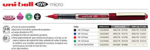 uni-ball UB-150 micro