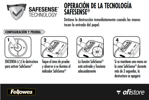 Destructora Fellowes 99Ci con safesense