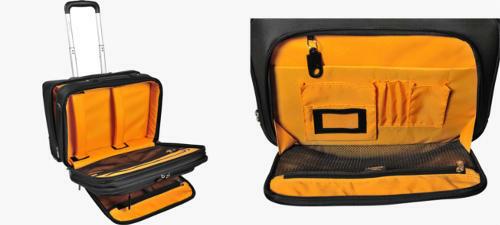 Compartimento acolchado maletín portátil