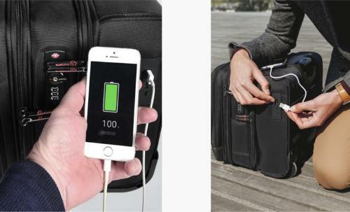 Puertos USB maletin portátil