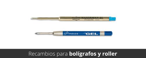 Recambios para bolígrafos