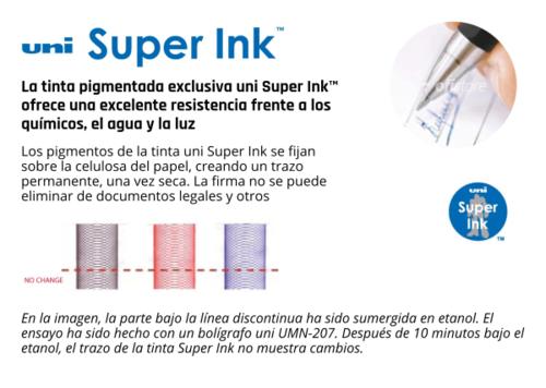 Tinta pigmentada uni Super Ink