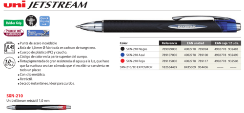 Bolígrafo JetStream SX210