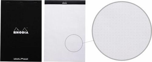 Bloc de notas Rhodia Dot Pad con hojas de puntos