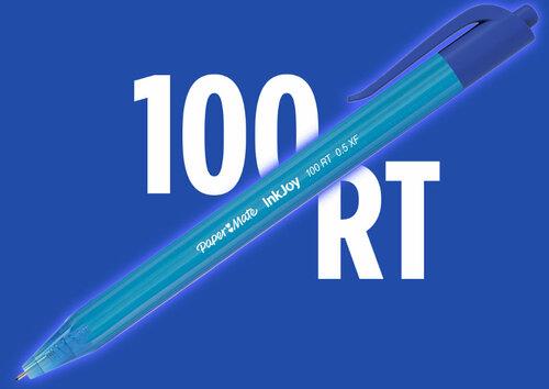 Bolígrafo retráctil Paper Mate InkJoy 100RT
