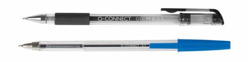 Bolígrafos baratos de la marca QConnect aceite y gel