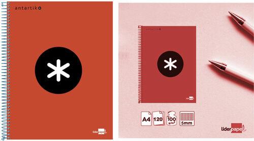 Cuadernos escolares de la marca Antartik