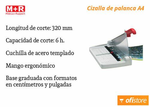Cizalla económica de papel MR 6532