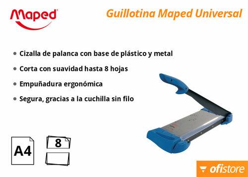 Guillotina Maped Universal A4 para cortar papel y cartulina