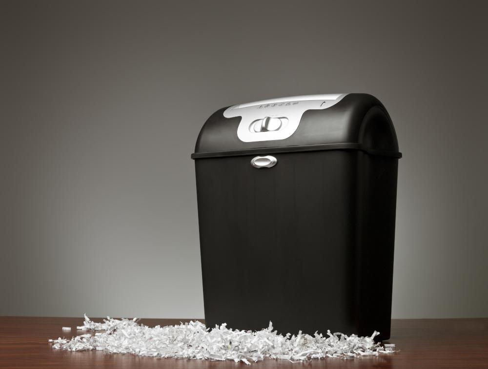 destructora de papel para oficinas