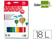 Lápices escolares de colores Liderpapel