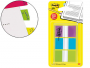 Comprar marcadores Post-It Index violeta, verde y azules %p