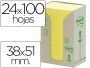 Comprar notas Post-It recicladas amarillas de 38x51 mm