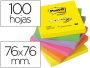 Comprar Notas Post-It cuadradas en formato acordeón de 76x76 mm