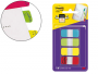 ᐅ Banderitas Post-It rígidas ⓴⓳ | Colores surtidos