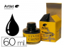 Tinta china artist negra frasco de 60 ml