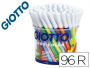 Rotulador Giotto turbo color bote de 96 unidades