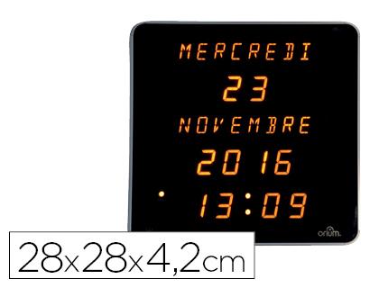 befcc53842fe Reloj y calendario luminoso de pared ¡¡LED de alta visibilidad!!